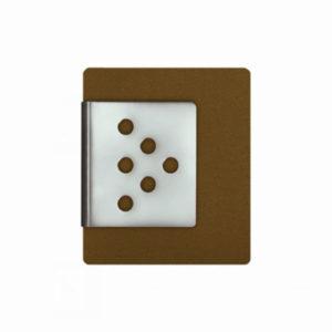 Dekoklammer – Punkte-Dreieck